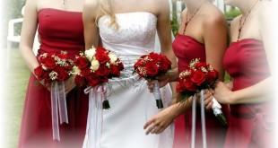 Cheap silk bridal bouquets photos 1