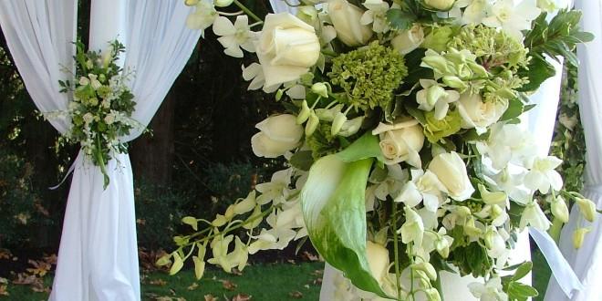 Floral wedding package