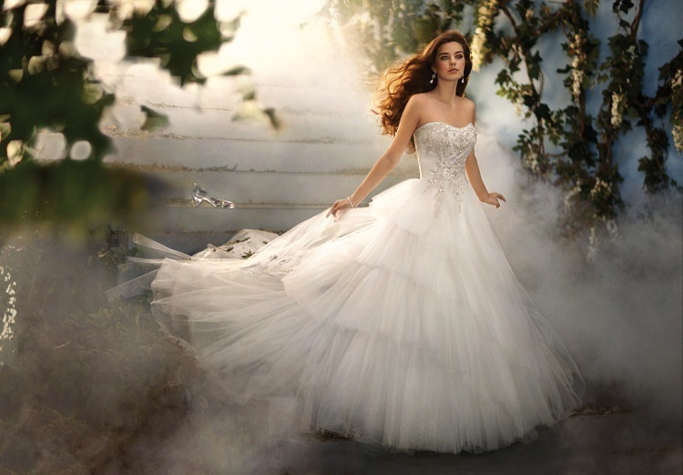 Disney Princess Inspired Wedding Dresses 2 | Wedding Inspiration Trends