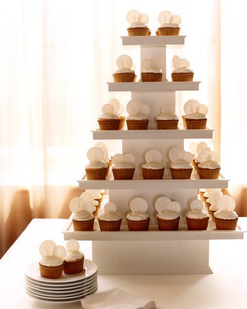 Wedding cupcakes square stand wedding inspiration trends