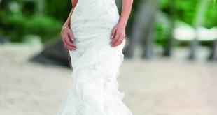 Mermaid Wedding Dress, Ella Bridals, top 10 2013 wedding dress style