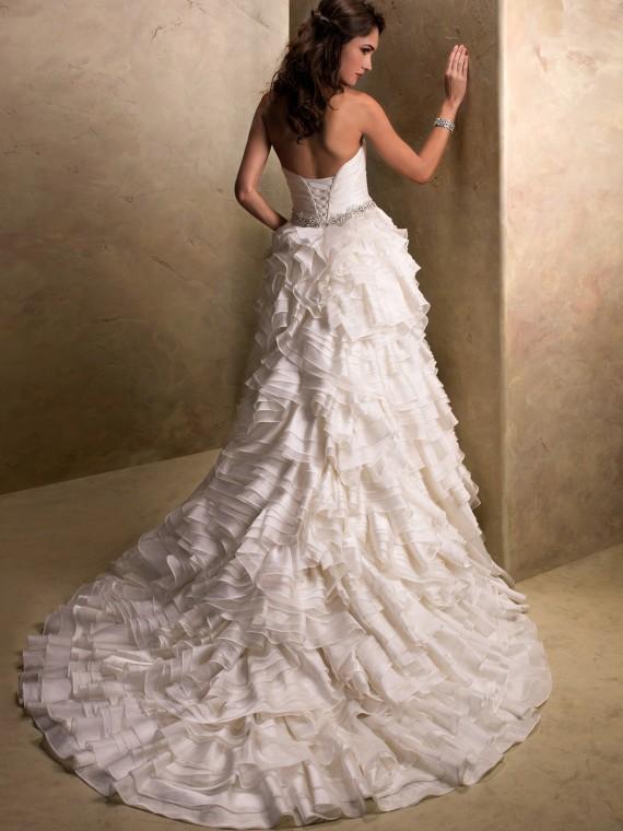 Top ten wedding dress style in 2013 corset bodices for Wedding dress with corset top