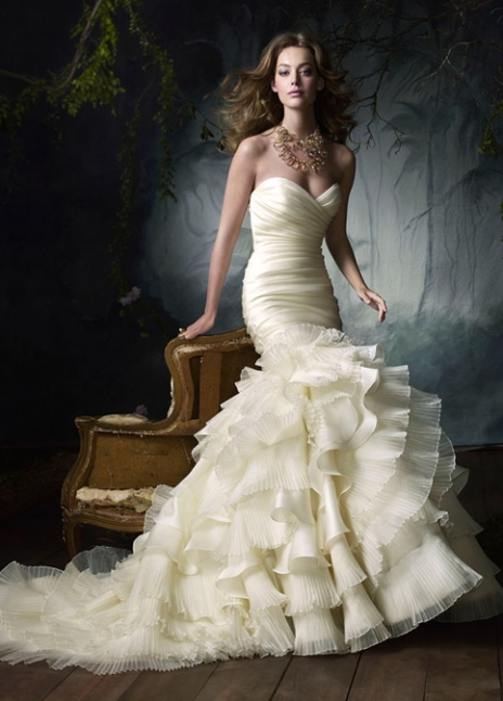 top ten wedding dress style in 2013 illusion neckline top