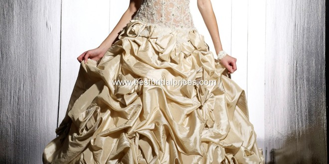 Top 10 2013 Wedding Dress Style - Gold Wedding Dress