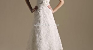 Tea Length wedding dress style, top 10 2013