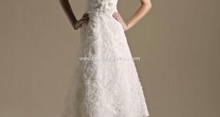 Tea Length wedding dress style, top 10 2013