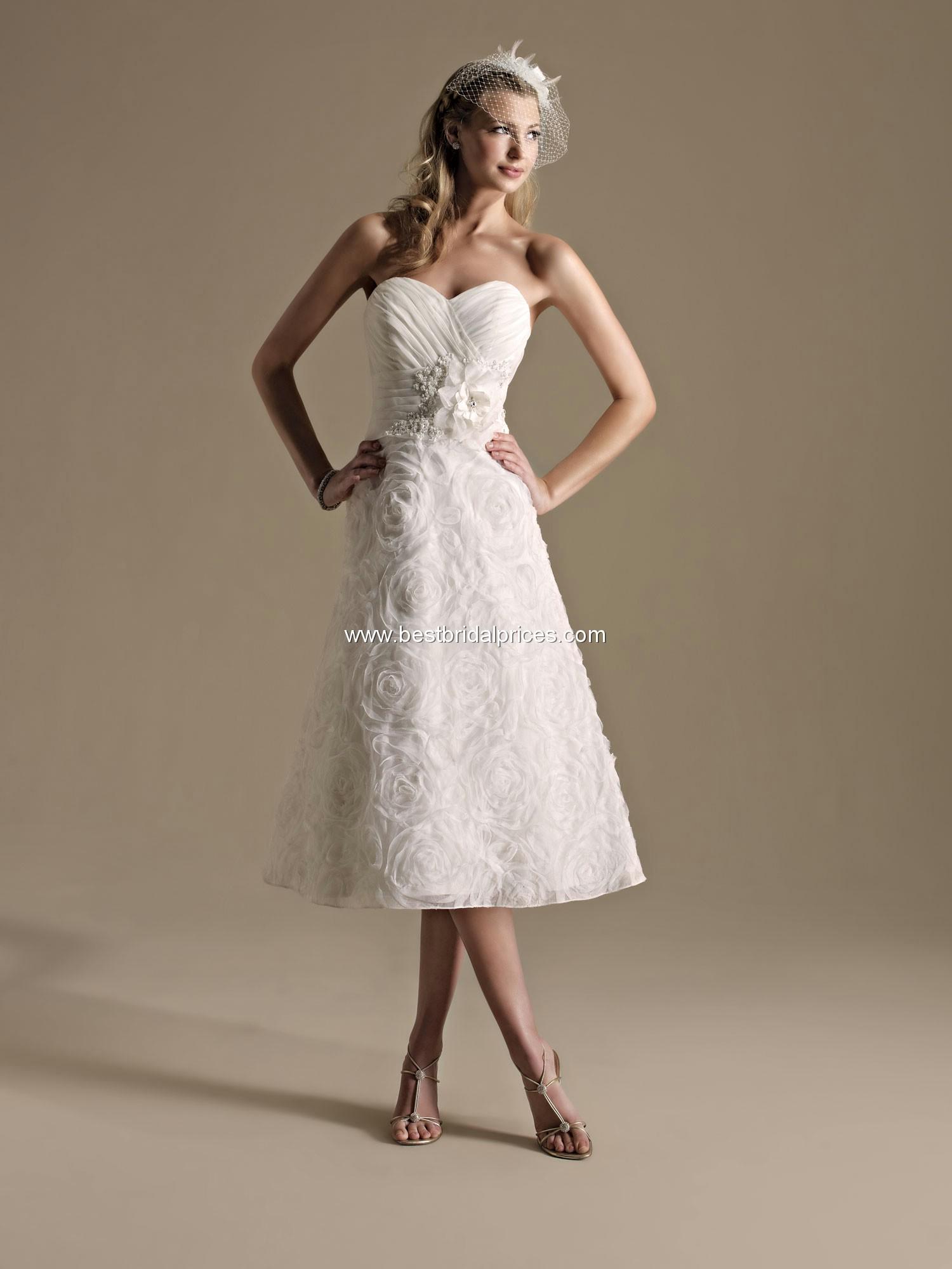 Top ten wedding dress style in 2013 tea length wedding for Tea length wedding dresses online