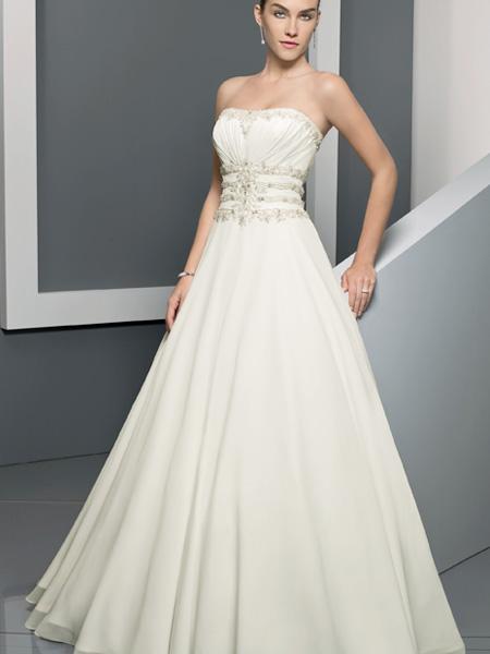 Empire waist wedding dresses 2012 wedding inspiration trends for Wedding dresses empire waist