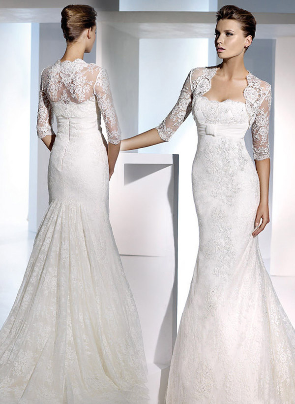 Empire waist wedding dresses 2013 wedding inspiration trends