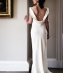 low back wedding dresses 2013