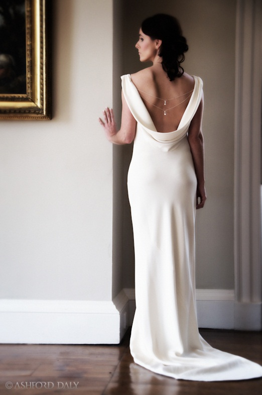 Low Back Wedding Dresses for Underwear Options