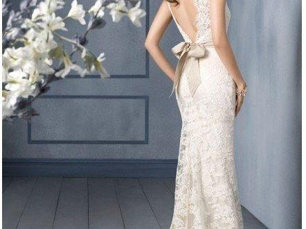 low back wedding dresses for sale
