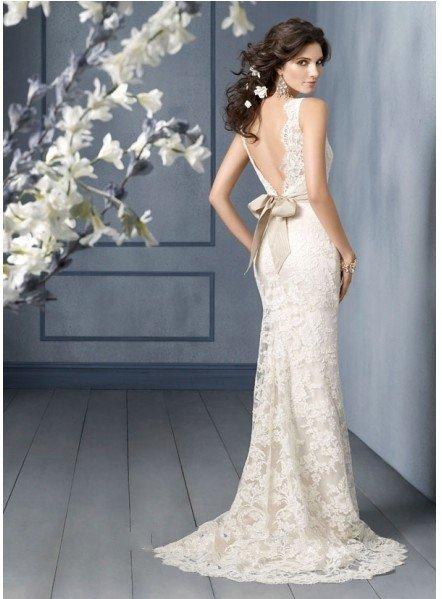 low back wedding dresses for sale - Wedding Inspiration Trends