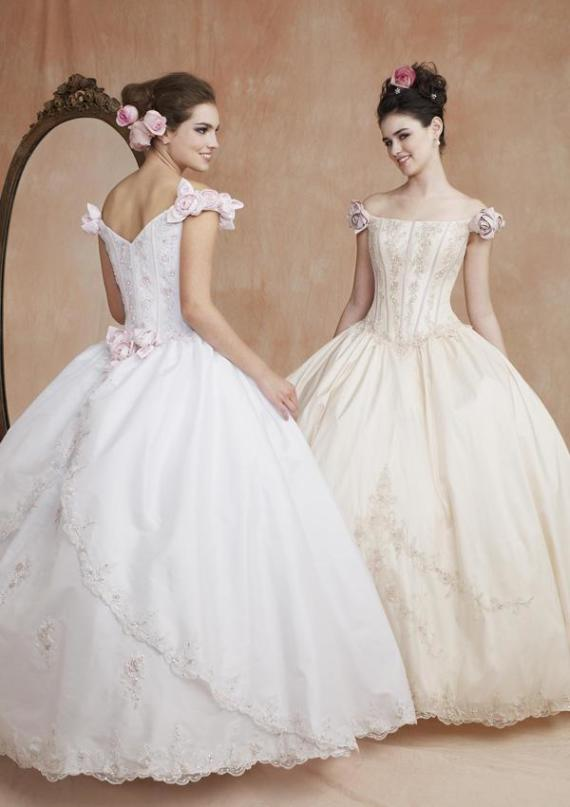 Ball gown wedding dresses Noble influence
