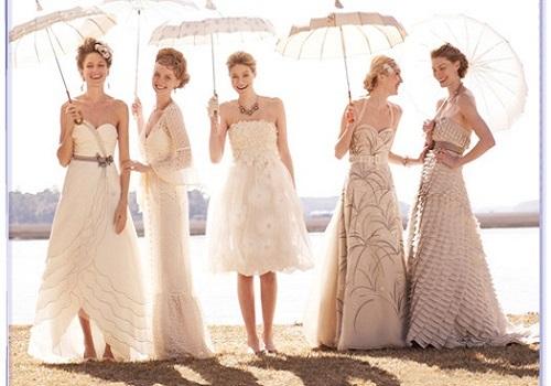Casual Spring Wedding Dresses