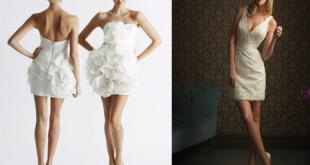 short wedding dresses spring 2014