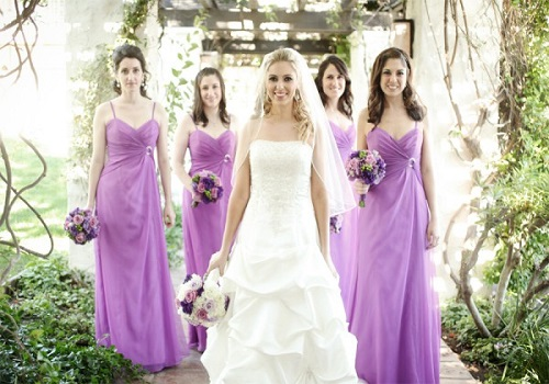 spring wedding bridesmaid dress colors wedding inspiration trends