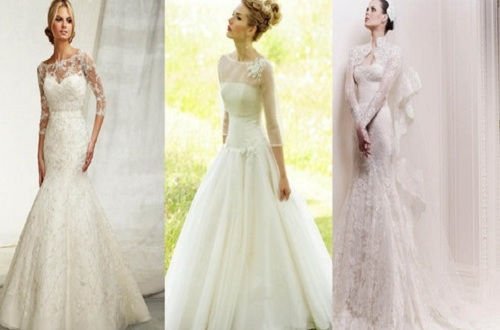 spring wedding dresses with sleeves