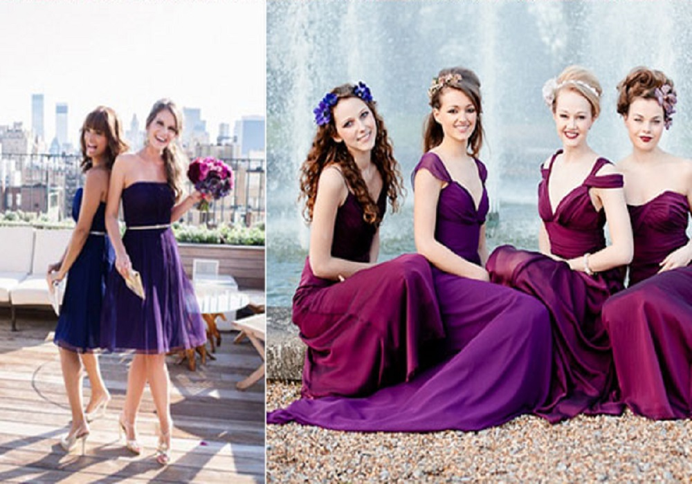best spring bridesmaid wedding dresses