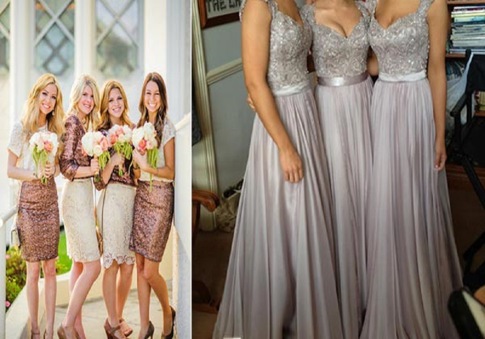 Spring Wedding Bridesmaid Dresses - Overlay Wedding Dresses