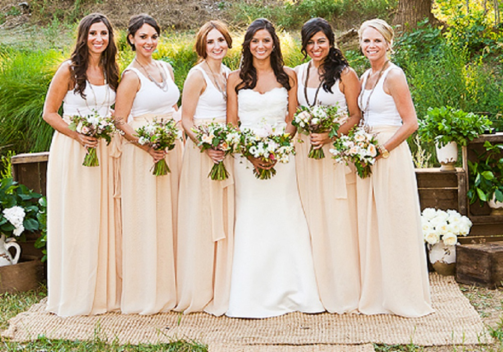 Spring Wedding Bridesmaid Dresses - Overlay Wedding Dresses