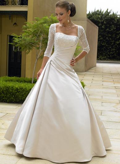 wedding dresses sleeves