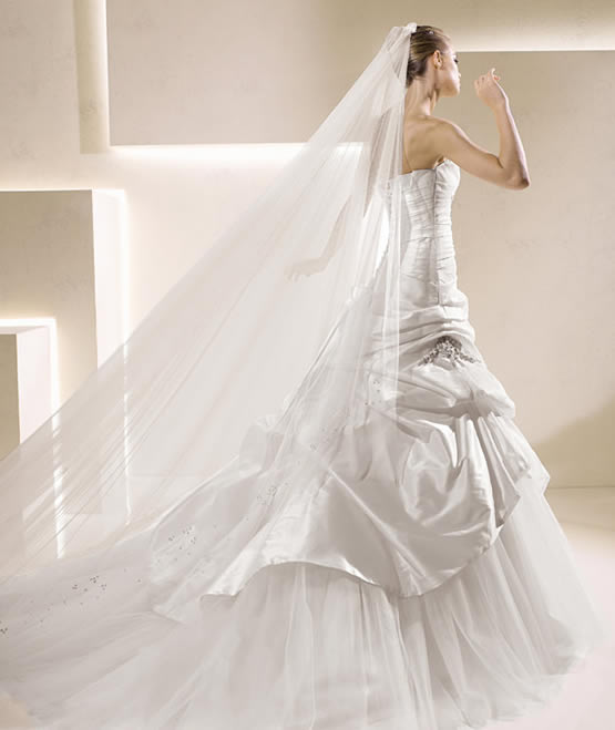 Wedding dresses morning: full color!