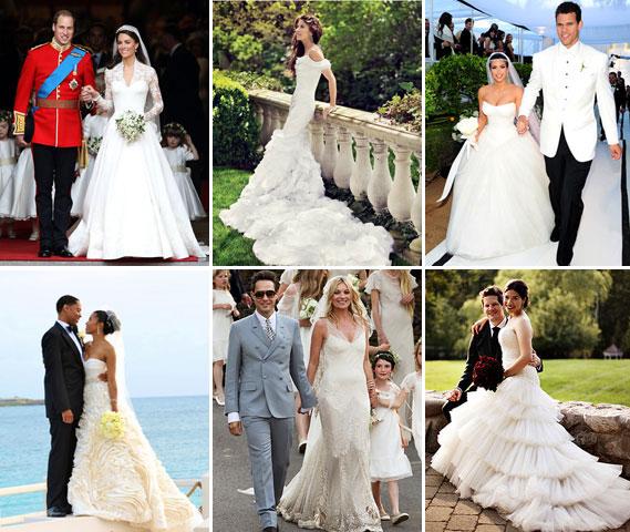 10 Best Celebrity Wedding Dresses : Top wedding dresses celebrity for less inspiration trends