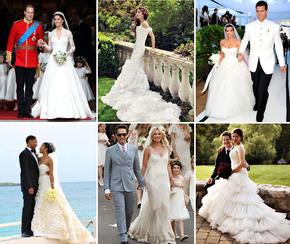 Best Celebrity Wedding Dresses Long Online