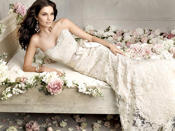 top wedding gown brands