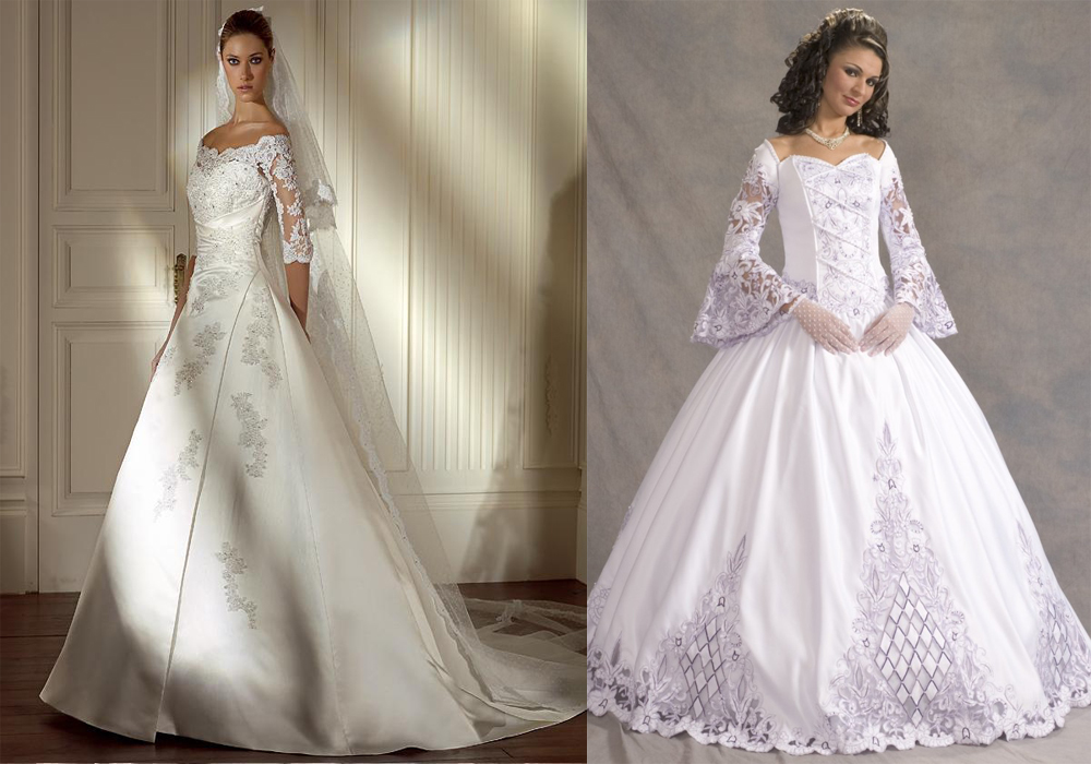 Wedding Dress Styles: Be A Cinderella With Classic Wedding Dress Style