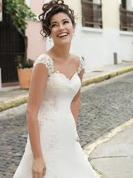 wedding dress by body shape
