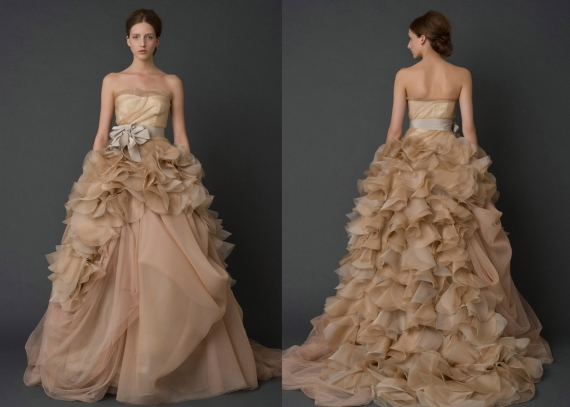 Colorful Wedding Dresses - Vera Wang 2