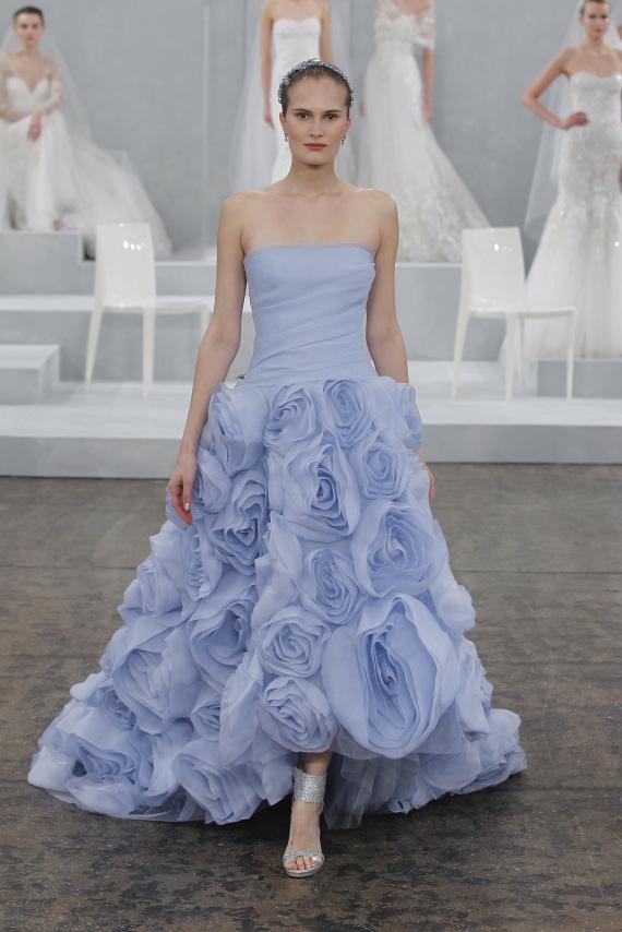 Colorful Wedding Dresses - Monique Lhuillier