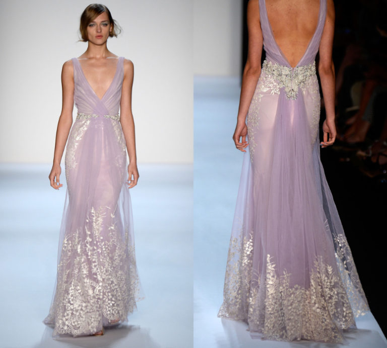 Colorful Wedding Dresses - Badgley Mischka