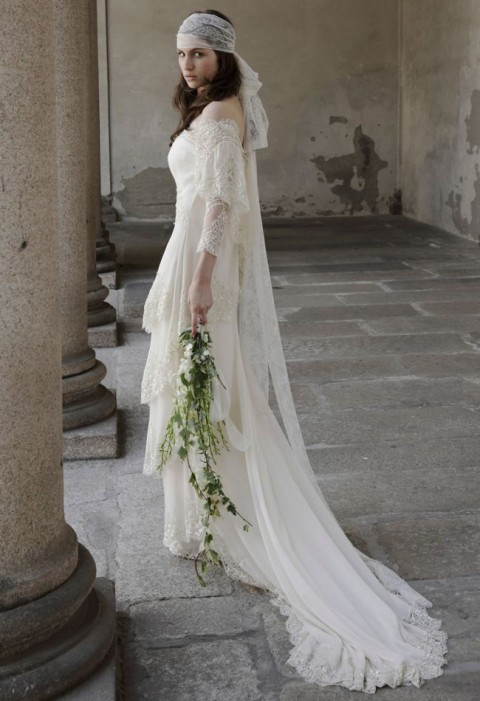 Trendy Bohemian Wedding Dress